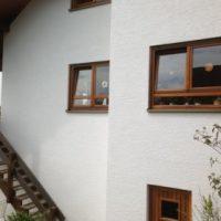 Einfamilienhaus mit Nanofarbe