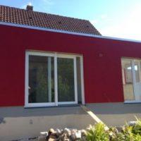 Wärmedämmung und Fassadenanstrich