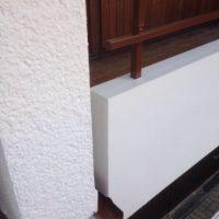 Fassadenanstrich und aufwändige Betonsanierung