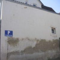 Fassadenrenovierung vorher